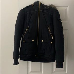 Juicy couture short puffer jacket
